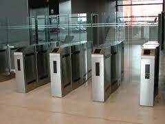 Pintu Otomatis Flap Barrier 4
